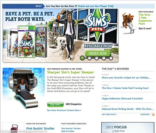 sims 3 what