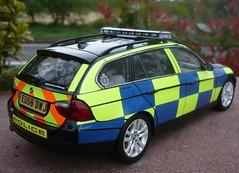 1/18 BMW 330D Touring Essex Police Traffic Car (alan215067code3models) Tags: 3 car toy model die cops estate traffic police cast bmw series essex touring collector 118 999 330d intercepters