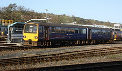 143612 - First Great Western (lazy south's travels) Tags: uk england train track britain rail railway class line devon exeter depot pacer unit 143 dmu firstgroup