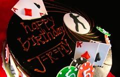 Jeremy's Secret Agent Cake