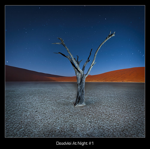Deadvlei At Night #1