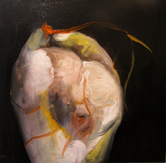 leo sobre lienzo. .2012 (joseba.eskubi) Tags: painting bilbao eskubi