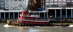 Tugboat Bruce A. McAllister (greg_guarino) Tags: new york city nyc red ny black water river island boat manhattan roosevelt east maritime tugboat tug mcallister bruceamcallister