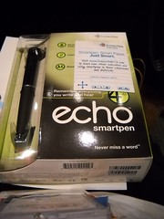 ECHO Smartpen in the goody bag!