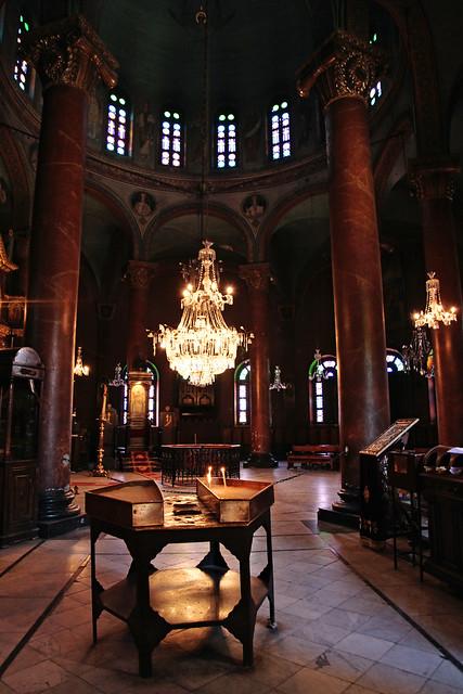 エジプト、オールドカイロ、聖ジョージ修道院