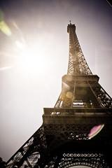 Eiffel Tower (Diana Albrecht33) Tags: paris france europe eiffeltower sunflare