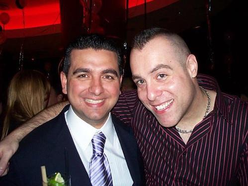Tony Tone Albanese Buddy Valastro At Cake Boss Premiere Party In Hoboken
