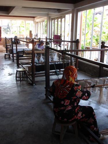 Kota Bahru songket weaving