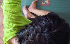 JUNE SONG (A sonnet) (Siri Chandra) Tags: selfportrait verde green feet me june foot poetry poem creative itsme thatsme sonnet creativewriting greengreengreen hennahair astory endofjune poetryandpicturesinternational iambicpentameter northwindsdaughter selfportraittheraphyproject junesong