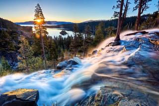 Eagle Falls Sunrise, Lake Tahoe