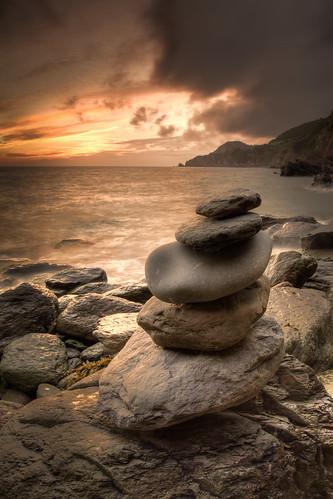 473/1000 - Woody Bay Sunrise 5 by Mark Carline