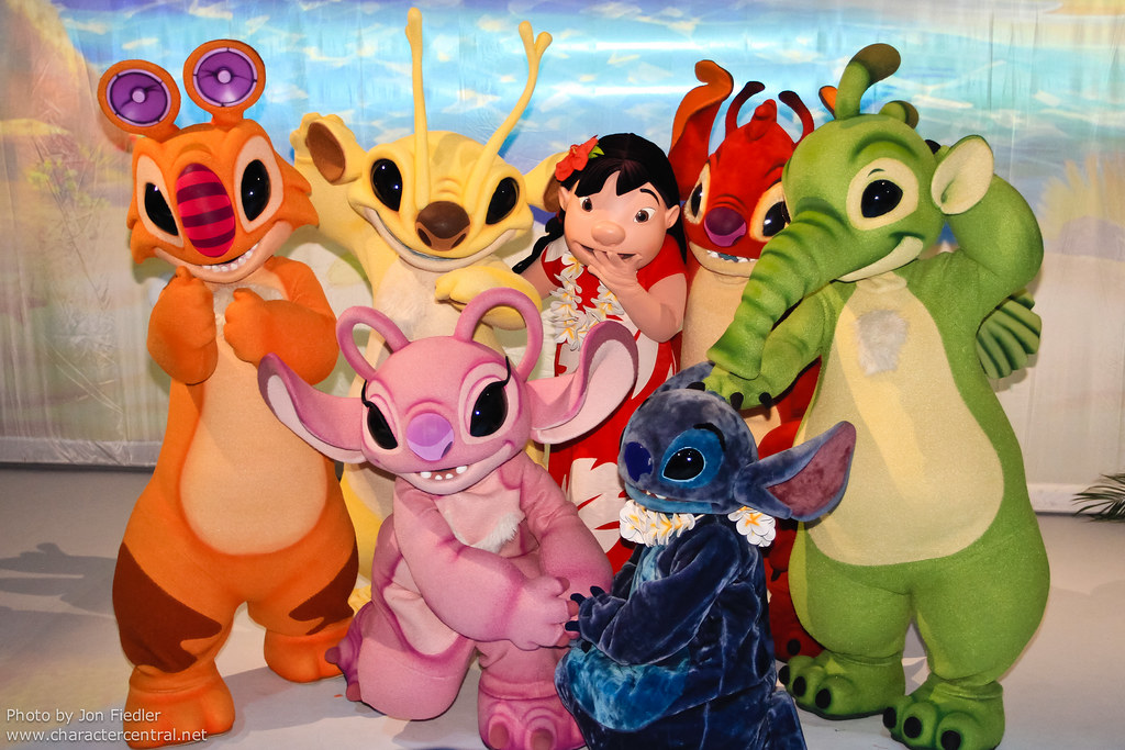 Stitch and friends