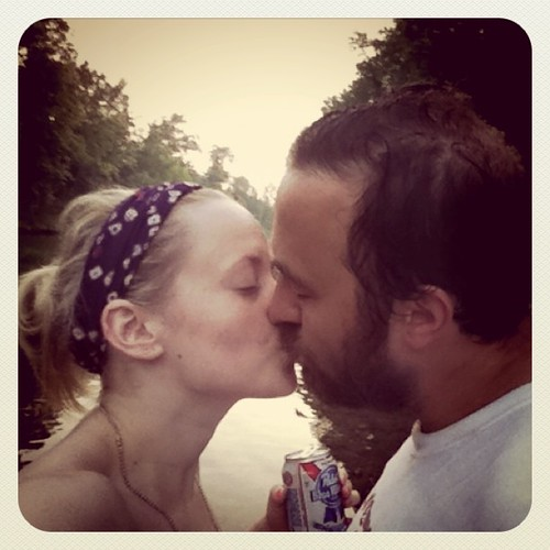 Kissin on the lake :)