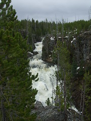 Yellowstone National Park, Wyoming (j a thorpe) Tags: river waterfall yellowstone wyoming keplercascades