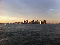 Lower Manhattan (McMillianCo) Tags: nyc newyorkcity sunset water boat lowermanhattan mcmillianfurlow