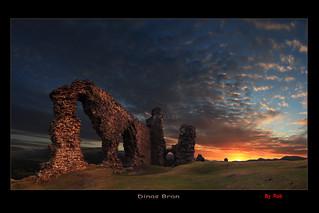 Dinas Bran .  Crow castle.
