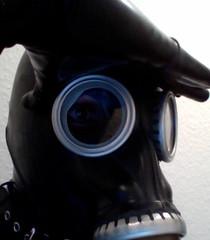 Russian Gazmask (SisterMyster) Tags: latex caoutchouc rubber gazmask mask masque fetiche fetichisme fetish catsuit gagball billon boule harnais orgasme orgasm libidex westwardbound russian blackstyle