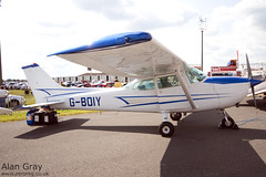 G-BOIY - CESSNA 172N - 110702 - Waddington - Alan Gray - IMG_0271