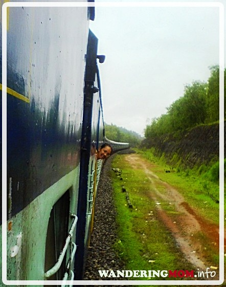 Train ride to Goa