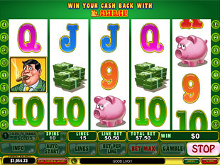 Mr. Cashback slot game online review