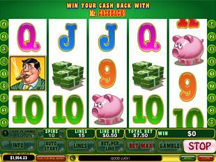 Mr. Cashback slot game online review