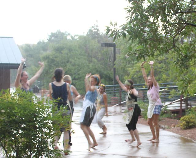 Dancing gang of Fearlessness