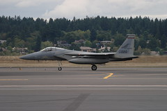 F-15C (Eagle Driver Wanted) Tags: eagle aviation pdx portlandairport ang orang aero pang aerospace airnationalguard militaryaircraft fighterjet airguard redhawks f15c kpdx f15ceagle 84020 fightingredhawks 840020 af84020 af840020