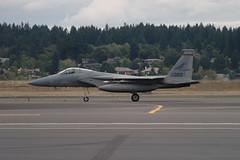 F-15C (Eagle Driver Wanted) Tags: eagle aviation pdx portlandairport ang orang aero pang aerospace airnationalguard militaryaircraft fighterjet airguard redhawks f15c kpdx f15ceagle 84020 fightingredhawks 840020 af84020 af840020