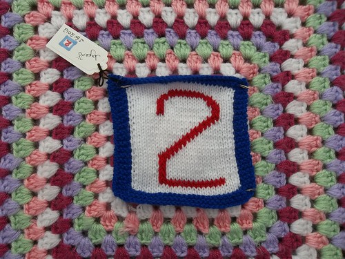 '2' in 2012 for the Olympic Blanket, great thank you!