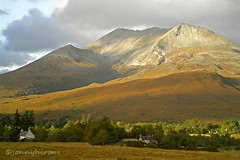 On this day last year - 05/10/2010 (3.1) (Jonny Hirons) Tags: mountain scotland highlands loch maree torridon munro beinn eighe kinlochewe incheril