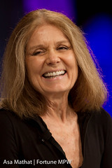 Gloria Steinem of Ms. Magazine and the Women's...