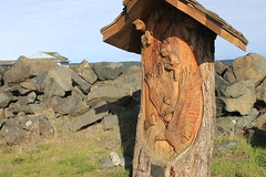 Carving in Campbell River