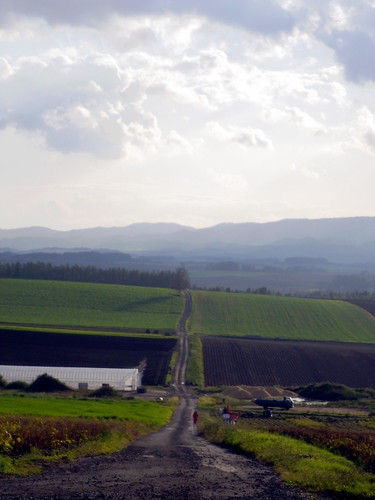 くねる道~就実の丘