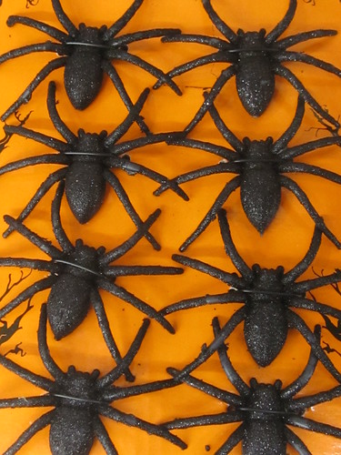 Black Spiders Decoration