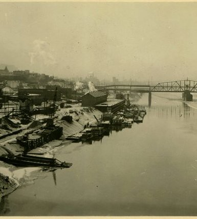 historic KC riverfront_markfrazierpostcard_crop