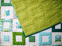 QD Springtime (6) (farbstoff-bridge) Tags: long arm quilting