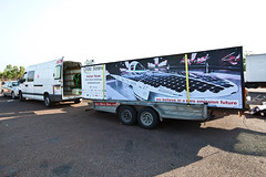 Our van+trailer (ondasolare) Tags: sun race competition alternativeenergy sole zev solarpanels solarcar madeinitaly corsa solarpowered solarcell renewableenergy solarpower futurecar solarenergy greenpower solarcells suncar worldsolarchallenge photovoltaiccells cleanenergy electricpower energiaalternativa energyefficiency solarbattery aerodinamica italianteam pannellisolari veicoloelettrico risparmioenergetico energiasolare energiapulita fontirinnovabili energiarinnovabile galleriadelvento photovoltaicmodule photovoltaicpanels zeroemissionvehicle fibradicarbonio autoelettrica greengeneration veicolielettrici pannellifotovoltaici energiaverde italianengineering pannellisolarifotovoltaici pannellofotovoltaico solarinverter emissionizero energiafotovoltaica solarfuel autoecologiche australia2011 sistemifotovoltaici ondasolare worldsolarchallenge2011 automobileelttrica macchinaincarbonio emiliaii solarprototypevehicle pannellosolarefotovoltaico competizioneenergiasolare concentratoresolare fontidienergiarinnovabile automobilielettriche veicoliecologici fibredicarbonio veicoloincarbonio materialicompositi