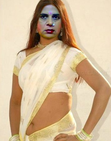 the beauty of sexy saree 02