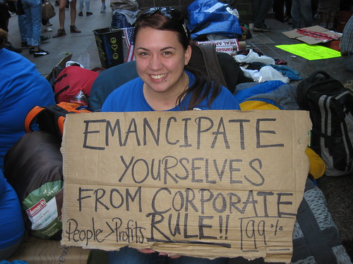 Emancipate Yourselves at Occupy Wall Street