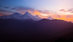 There will be a sunrise once again (Zolashine) Tags: nepal mountain sunrise trekking landscape dawn annapurna himalayas poonhill ghorepani annapurnasouth hiunchuli machapuchare annapurnahimal pichayaviwatrujirapong thaiflood sunriseinannapurnarange