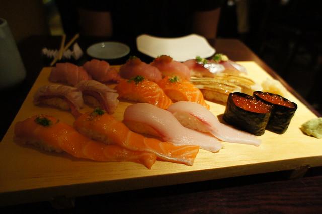 Ota Sushi - our food