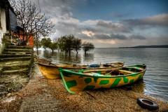 Lake boats, Glyaz (Nejdet Duzen) Tags: trip travel cloud lake reflection turkey boat trkiye sandal bursa bulut gl yansma turkei seyahat uluabatlake glyaz uluabatgl saariysqualitypictures ringexcellence musictomyeyeslevel1