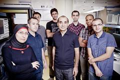 Le professeur Sofiène Affes et son équipe