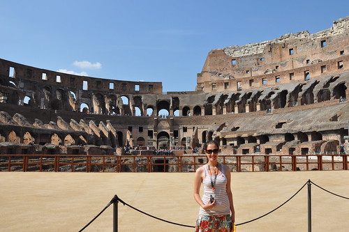 On the Stage at the Colosseum