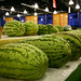 This year's watermelons were whoppers. The largest, at 282 pounds, set a new state record.