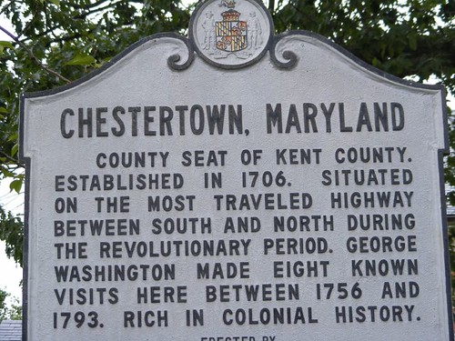 Brief history of Chestertown