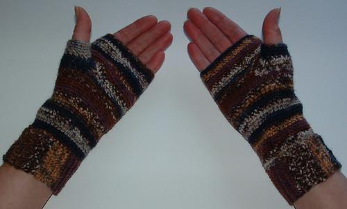 Basic Fingerless Gloves My Recycled Bags