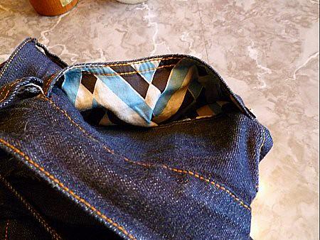 pocket lining