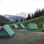 "Camping in the Dolomites<a href=""http://farm7.static.flickr.com/6043/6254078011_a2448f2b52_o.jpg"" title=""High res"">∝</a>"