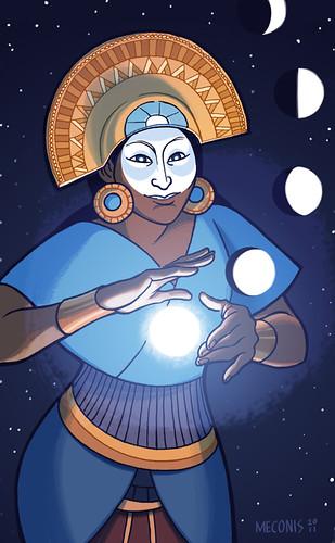 Goddess: Mama Quilla (Incan)